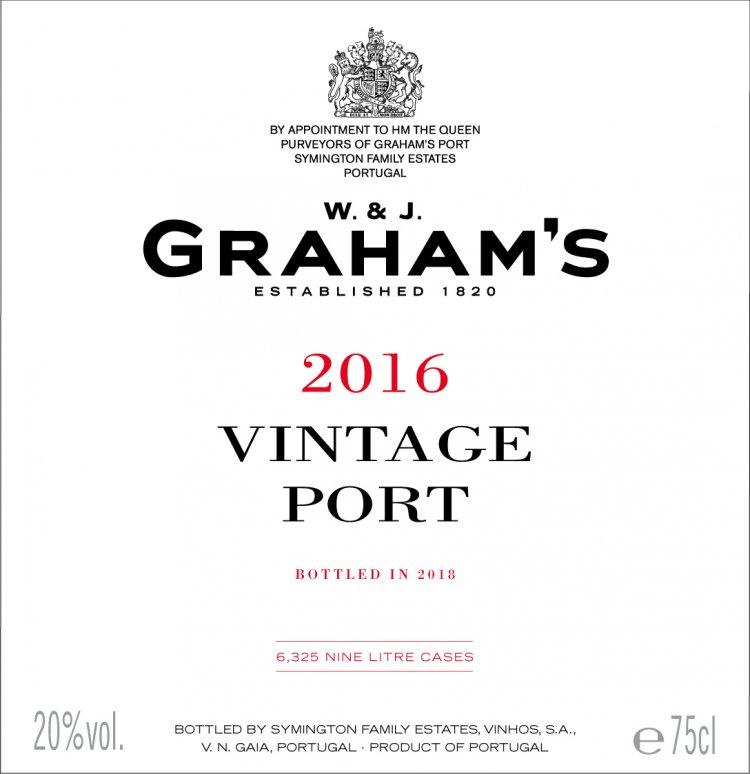 Graham's label