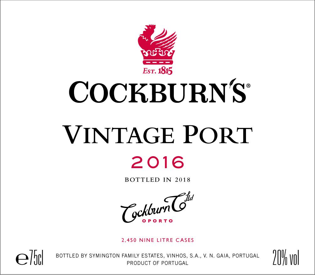 Cockburn's label