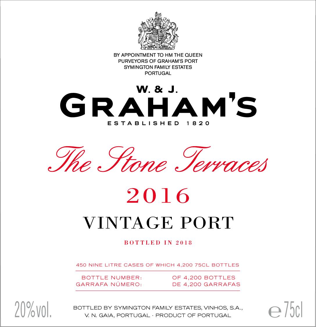 Graham's The Stone Terraces label
