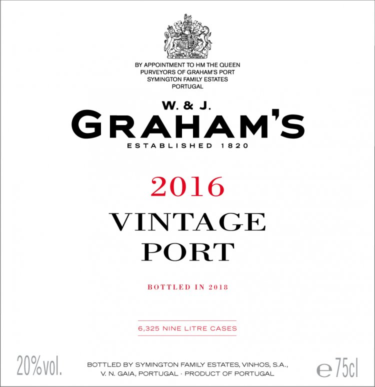 Graham's label