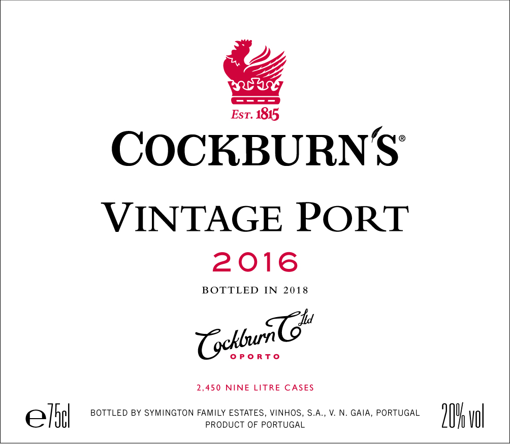 Cockburn's label