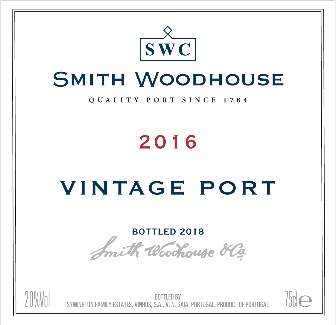 Smith Woodhouse label