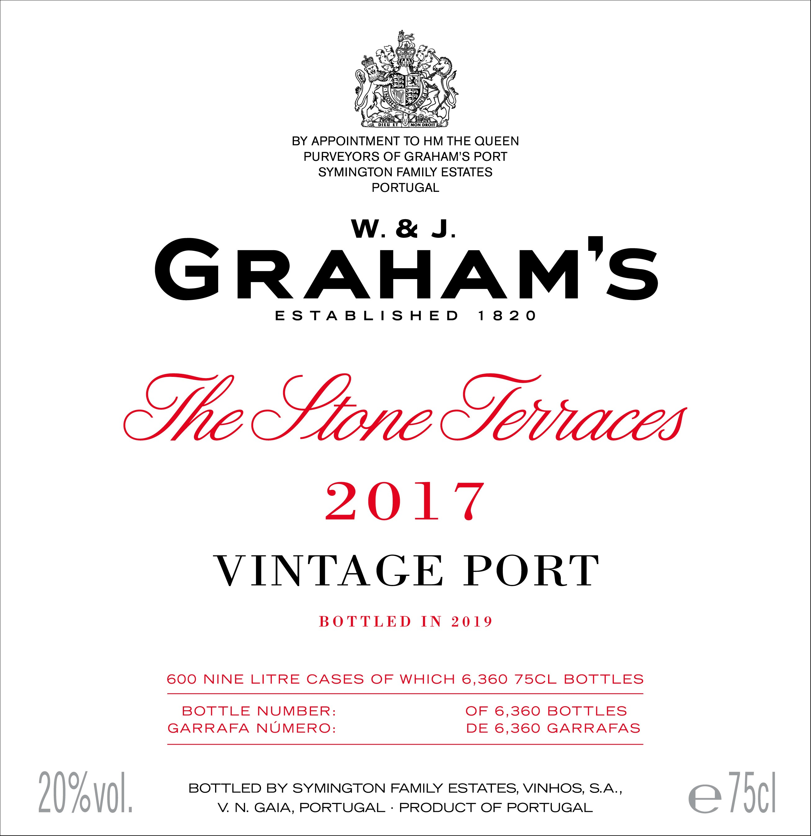 Graham's The Stone Terraces label