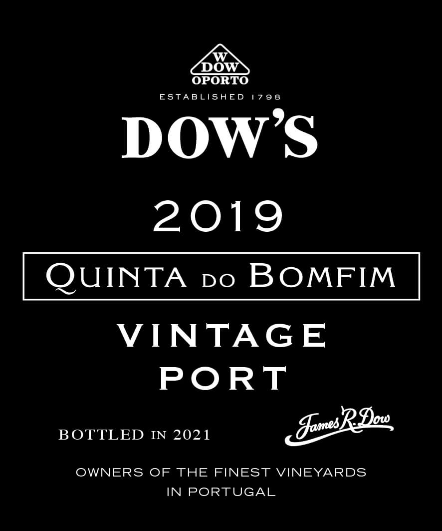 Dow's Quinta do Bomfim label