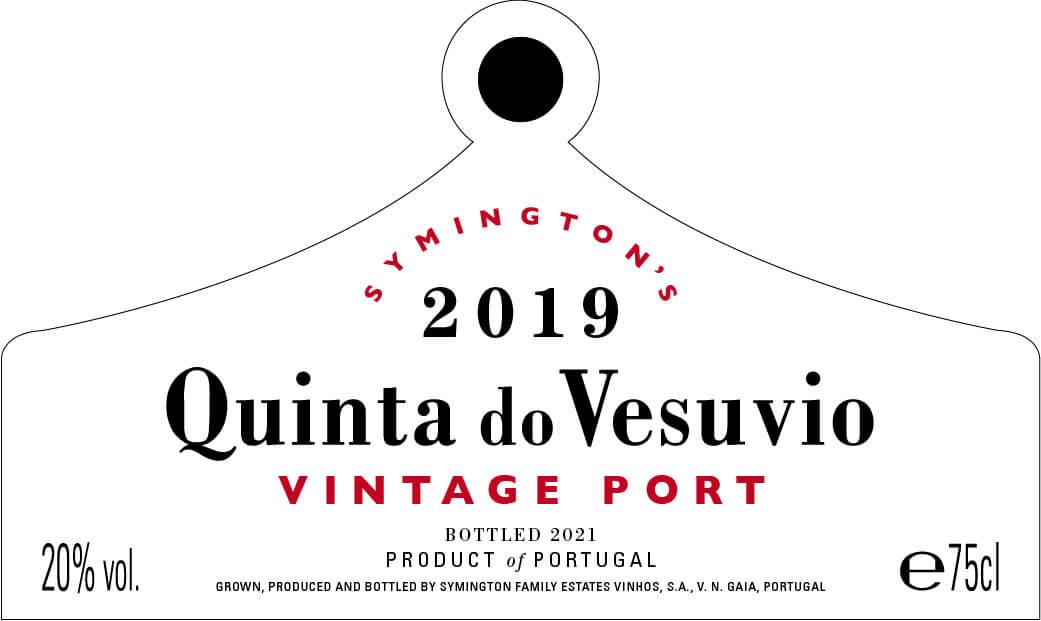 Quinta do Vesuvio label