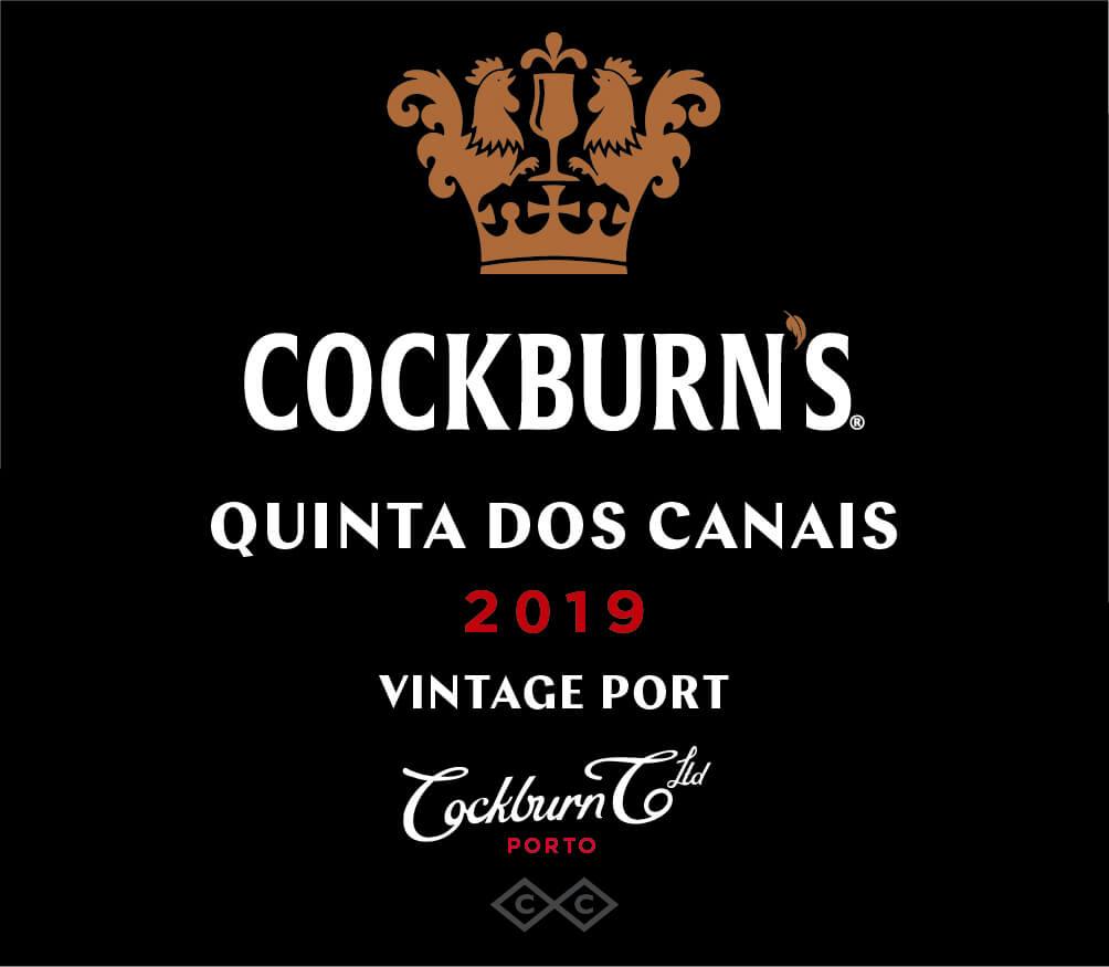 Cockburn's Quinta dos Canais label